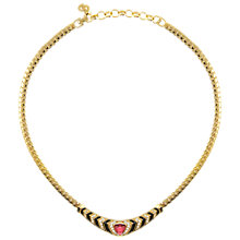 Buy Eclectica Vintage 1970s Christian Dior Faux Ruby Enamel Necklace Online at johnlewis.com
