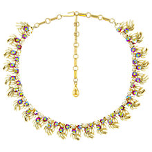 Buy Eclectica Vintage 1950s Coro Rhinestone Faux Pearl Necklace Online at johnlewis.com