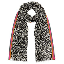 Buy Jigsaw French Leopard Scarf Online at johnlewis.com