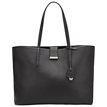 Buy Whistles Fleet Large Leather Tote Bag Online at johnlewis.com