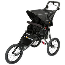 Buy Out 'N' About Nipper Sport V4 Pushchair, Black Online at johnlewis.com