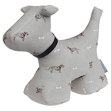 Buy Sophie Allport Terrier Print Doorstop, Multi Online at johnlewis.com