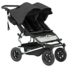 Buy Mountain Buggy Duet V2 Pushchair, Black/Silver Online at johnlewis.com