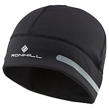 Buy Ronhill Flash Beanie, One Size, Black Online at johnlewis.com