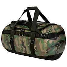 Buy The North Face Base Camp Duffle Holdall, Medium, Camoflage Online at johnlewis.com
