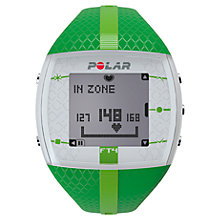Buy Polar FT4 Heart Rate Monitor Sports Watch, Green Online at johnlewis.com