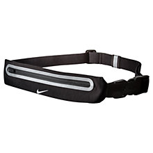 Buy Nike Expandable Running Lean Waistpack, Black Online at johnlewis.com