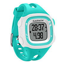 Buy Garmin Forerunner 15 GPS Running Watch + Heart Rate Monitor, Small Online at johnlewis.com