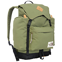Buy The North Face Retro-Inspired Rucksack, Burnt Olive Green Online at johnlewis.com