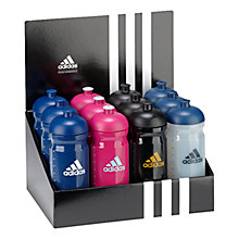 Buy Adidas R2S Sports Water Bottle, White/Blue Online at johnlewis.com