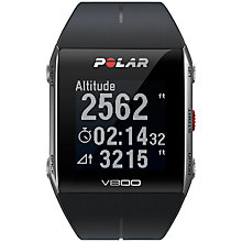 Buy Polar V800 Heart Rate Monitor With GPS Online at johnlewis.com