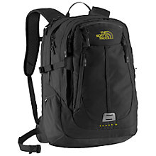 Buy The North Face Surge II Charged Backpack, Black Online at johnlewis.com