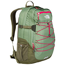 "Buy The North Face Borealis 15"" Laptop Backpack, Green Online at johnlewis.com"