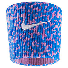 Buy Nike Ace Wristband, Blue/Magenta Online at johnlewis.com