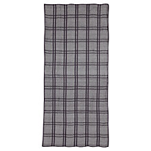 Buy Jigsaw Pom Pom Check Scarf Online at johnlewis.com