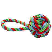 Buy Fred & Ginger Rope Knot Dog Toy Online at johnlewis.com
