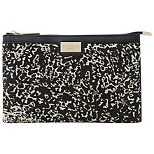 Buy Dune Eboomiez Clutch Bag, Black/White Online at johnlewis.com