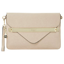 Buy Dune Enlightening Branded Bar Detail Clutch Bag Online at johnlewis.com