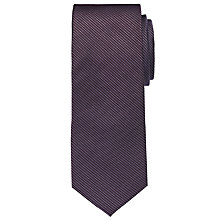 Buy CK Calvin Klein Woven Silk Tie, Purple Online at johnlewis.com
