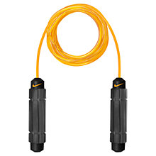 Buy Nike Speed Rope, Black/Orange Online at johnlewis.com
