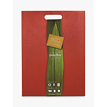 Buy Architec Ecosmart Polyflax Chopping Board, Red Online at johnlewis.com
