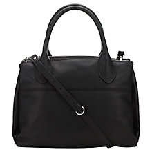 Buy Jigsaw Montreal Leather Tote Bag, Black Online at johnlewis.com