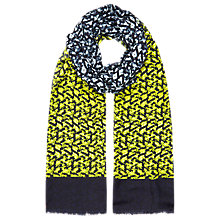 Buy Planet Ombre Printed Scarf, Multi Dark Online at johnlewis.com