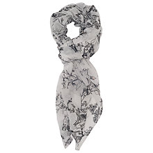 Buy French Connection Anastasia Scarf, Winter White Online at johnlewis.com