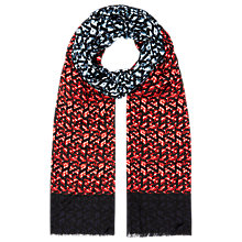 Buy Planet Ombre Print Scarf, Multi Dark Online at johnlewis.com