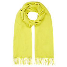 Buy Planet Chartreuse Scarf, Lime Online at johnlewis.com
