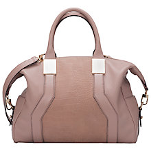 Buy French Connection Evie Leather Tote, Hazelwood Online at johnlewis.com