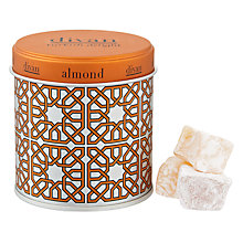 Buy Divan Almond Turkish Delight, 140g Online at johnlewis.com