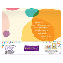 Buy Docrafts Roald Dahl Stationery Pack Online at johnlewis.com