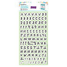 Buy Docrafts Roald Dahl Alphabet Stickers, Pack of 114 Online at johnlewis.com