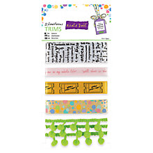 Buy Docrafts Roald Dalhl Splendiferous Trims, Pack of 5 Online at johnlewis.com