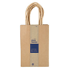 Buy Docrafts Small Kraft Gift Bags, Pack of 5 Online at johnlewis.com