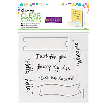 Buy Docrafts Glummy Clear Stamps Online at johnlewis.com