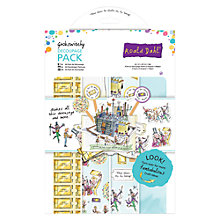 Buy Docrafts Roald Dahl Decoupage Pack Online at johnlewis.com