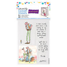 Buy Docrafts The Bfg Clear Stamps, Pack of 6 Online at johnlewis.com