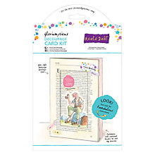 Buy Docrafts The Bfg Card Kit, A5 Online at johnlewis.com