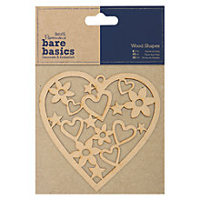 Buy Docrafts Wood Shapes Online at johnlewis.com