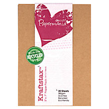 "Buy Docrafts 5 X 7"" Kraftstax, Pack of 20 Online at johnlewis.com"