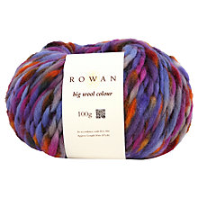 Buy Rowan Big Wool Colour Chunky Yarn, 100g Online at johnlewis.com