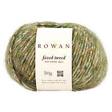 Buy Rowan Fazed Tweed Chunky Yarn, 50g Online at johnlewis.com