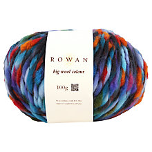 Buy Rowan Big Wool Colour Super Chunky Yarn, 100g Online at johnlewis.com