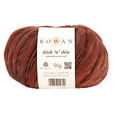 Buy Rowan Thick N Thin Yarn, 50g Online at johnlewis.com