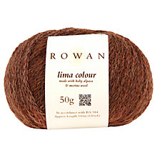 Buy Rowan Lima Colour Chunky Yarn, 50g Online at johnlewis.com