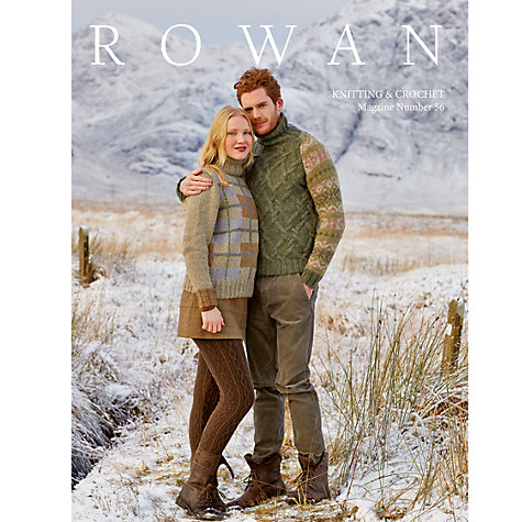 Buy Rowan Knitting & Crochet Magazine 56 Online at johnlewis.com
