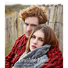 Buy Rowan Brushed Fleece Collection Knitting Pattern Booklet Online at johnlewis.com