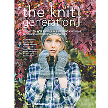 Buy The Knit Generation Knitting Pattern Online at johnlewis.com